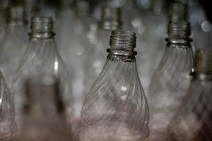 Plastikflaschen mit BPA